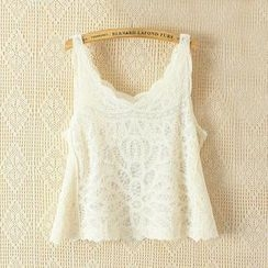 Ainvyi - Lace Tank Top