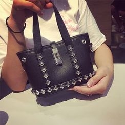 Pandabada - Studded Mini Handbag