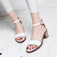 Sidewalk - Block Heel Sandals