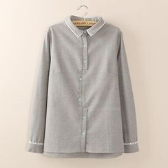 Tangi - Striped Panel Shirt
