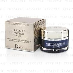 Christian Dior - Capture Totale Nuit Intensive Night Restorative Creme (Rechargeable)