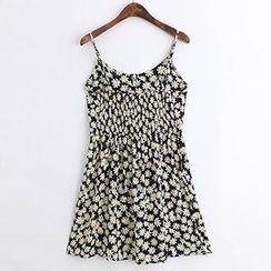 ninna nanna - Daisy Print Sleeveless Dress