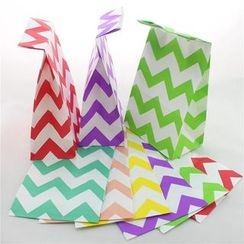 Palmy Parties - Set of 12: Printed Paper Gift Bag
