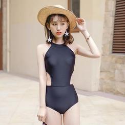Beach Date - 镂空连体泳衣
