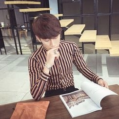 Simsam - Striped Long-Sleeve Shirt
