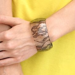 SO Central - Translucent Lace Bangle