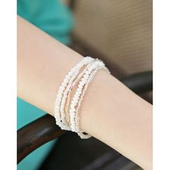 Miss21 Korea - Set of 5: Bead Bracelet
