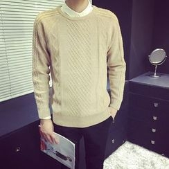 Breeson - Cable Knit Sweater