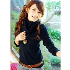 Tokyo Fashion - Cowl-Neck Sweater