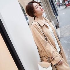 mimi&didi - Single-Breasted Trench Coat