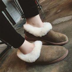 周董女鞋 - 及踝雪靴