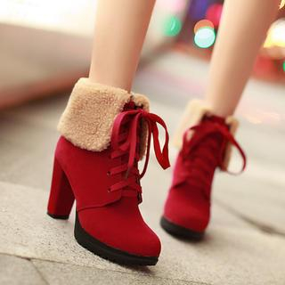77Queen - Cuffed Ankle Boots