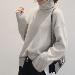NANING9 - Wool Blend Turtleneck Sweater