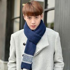 Amandier - 花纹围巾