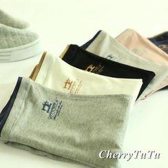 CherryTuTu - Contrast Trim Leggings