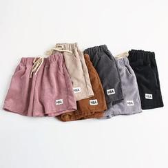 KANAMI - 抽绳腰短裤