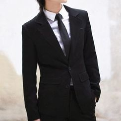 Kazuto - PSYCHO-PASS Black and White Suit Cosplay Costume