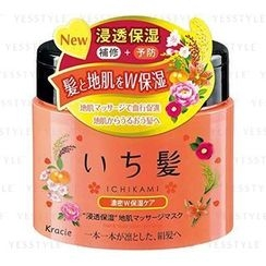Kracie - ICHIKAMI Moisturizing Hair Massage Mask