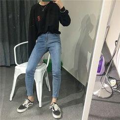 EEKO - Cropped Skinny Jeans