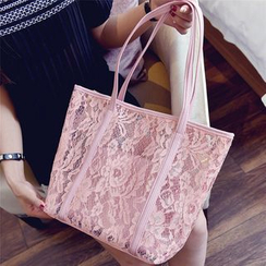 Nautilus Bags - Lace Shopper Bag