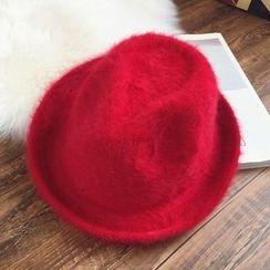Pompabee - Furry Fedora Hat