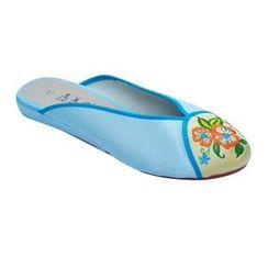 Krystella - 刺繡拖鞋