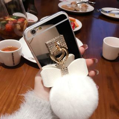 SUGOI - iPhone 5/5S/6/6S/6p/6Splus Pompom Case