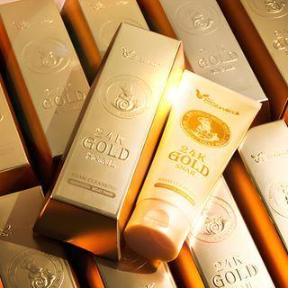 Elizavecca - Milky Piggy 24K Gold Snail Foam Cleansing 180ml