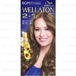 Wella - Wellation 2 + 1 Liquid Hair Color (#8GM)