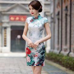 Miss Four Qipao - 碎花旗袍