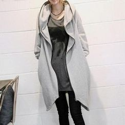 QLand - Hooded Long Jacket