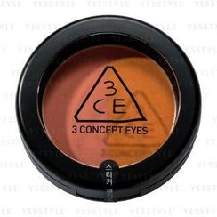 3 CONCEPT EYES - Duo Color Face Blush (Peach Crush)