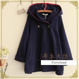 Kawaii Fairyland - Double-Breasted Hooded Coat