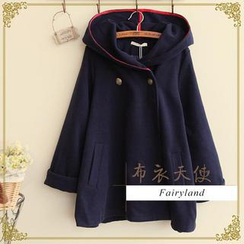 Fairyland - Double-Breasted Hooded Coat