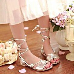 CITTA - Star Strappy Sandals