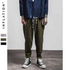 Newin - Splattered Harem Pants