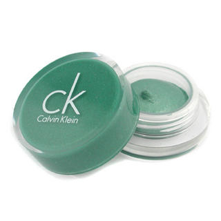 Calvin Klein - Tempting Glimmer Sheer Creme EyeShadow - #313 Tropical Green