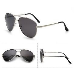 OJOS - Double Bridge Aviator Sunglasses