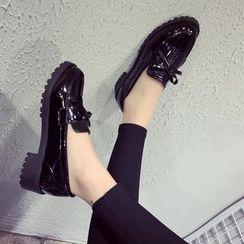 Tina Nini - 流苏厚底乐福鞋