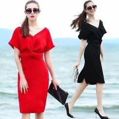 Amella - Short-Sleeve Dress