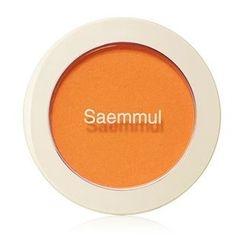 The Saem - Saemmul Single Blusher (#OR02 Selfie Orange)