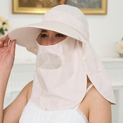 卿本佳人 - 太陽帽連面罩