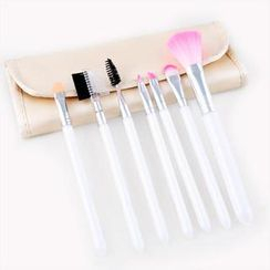 Magic Beauty - Makeup Brush Set (Beige)
