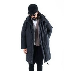 YIDESIMPLE - Hooded Coat