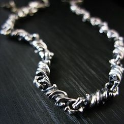Sterlingworth - Sterling Silver Chain Bracelet (Linker 1)