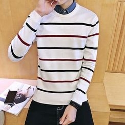 Alvicio - Stripe Knit Top