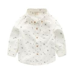 lalalove - Kids Printed Long-Sleeve Shirt
