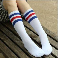 Coshield - 配色條紋襪