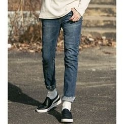 ABOKI - Washed Blue Jeans
