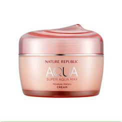 Nature Republic - Super Aqua Max Moisture Watery Cream - For Dry Skin